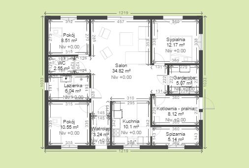 Rozplanowanie Pomieszczen 21 Budowa Domu Za 150 Tys